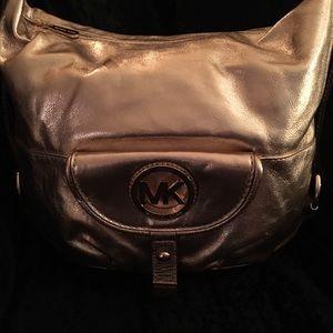 Michael Kors hobo gold Pocketbook